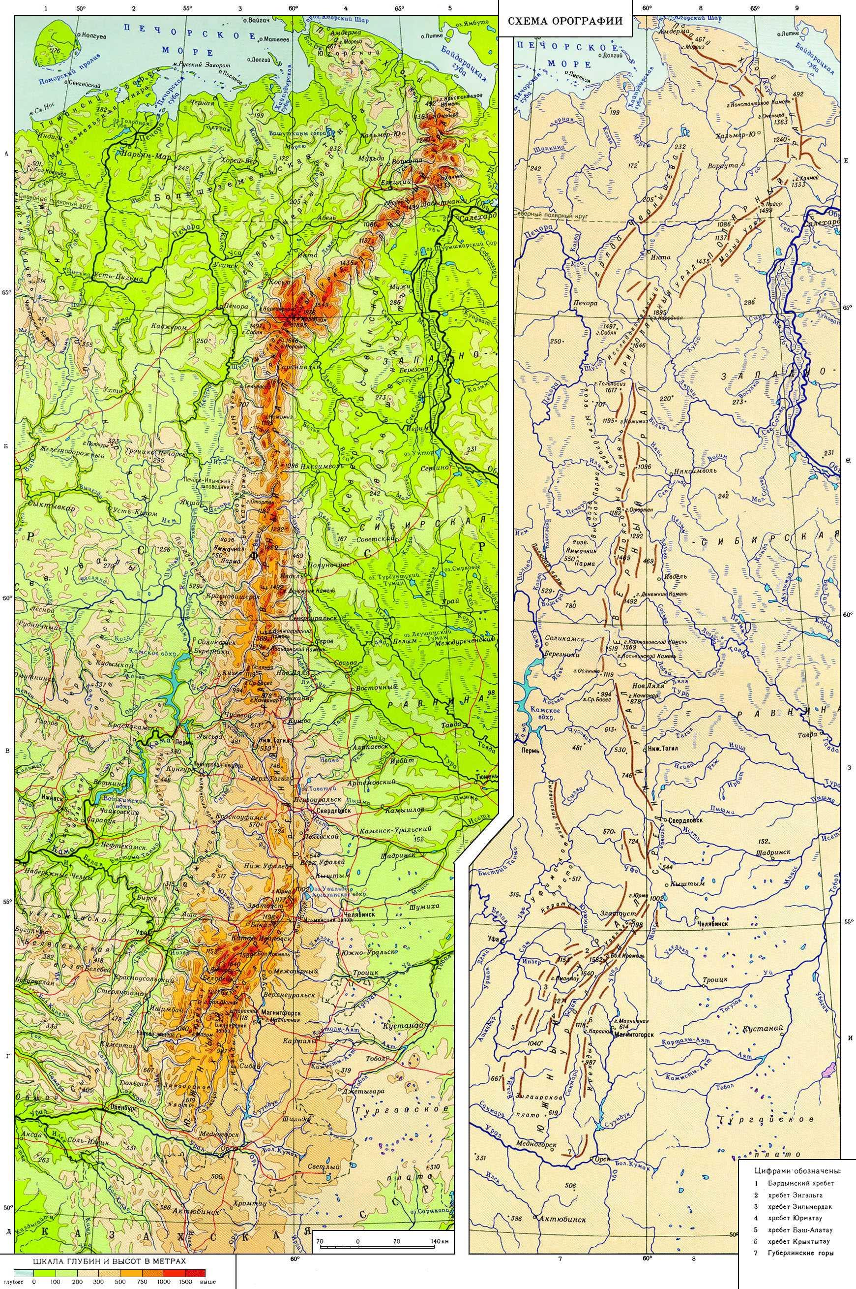 Опорные регионы уральского фо