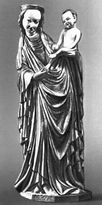 Скульптура 12—15 вв мадонна из
