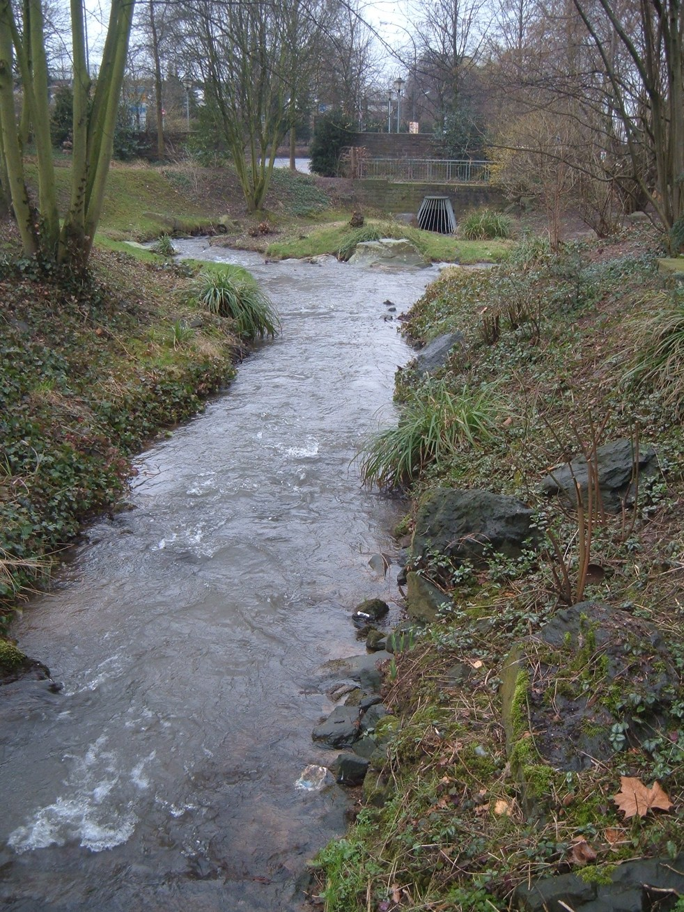 Gladbach Fluss