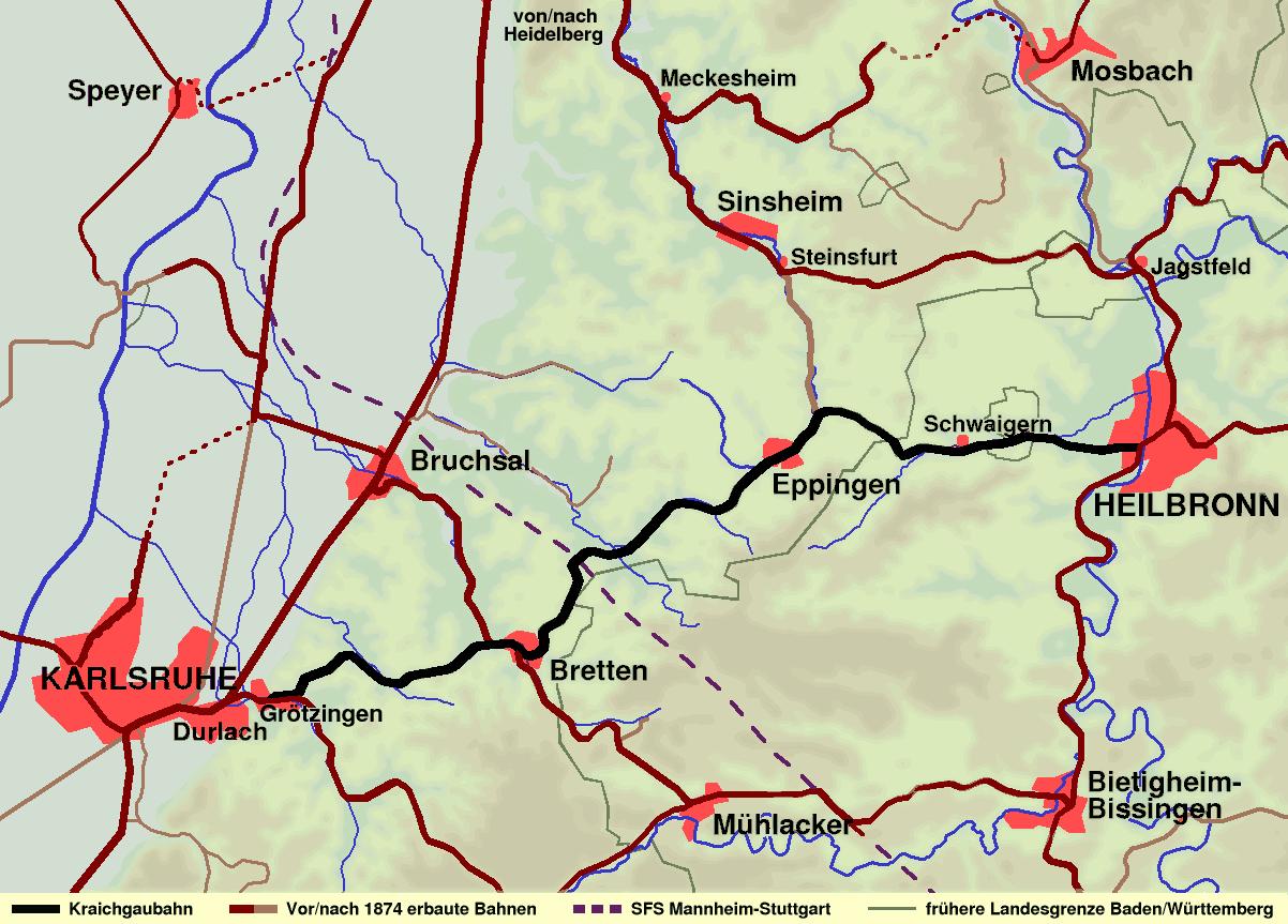 Karlsruhe Heilbronn Entfernung