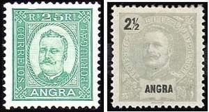 Почтовые марки Ангры