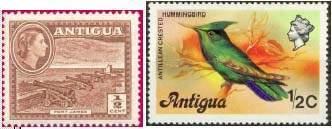 Почтовые марки Антигуа