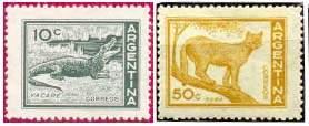 Почтовые марки Аргентины