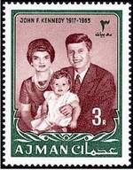 Почтовая марка Аджмана