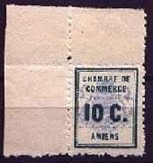 Почтовая марка Амьена
