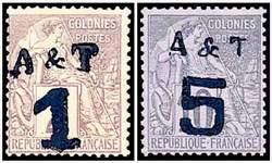 Почтовые марки Аннам и Тонкин