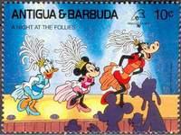 Почтовая марка Антигуа и Барбуды