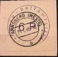 Местный выпуск Арнсберга