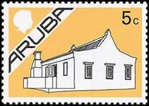 Почтовая марка Арубы