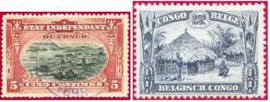 Почтовые марки Бельгийского Конго
