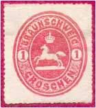 Почтовая марка Брауншвейга