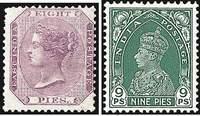 Почтовые марки Британской Индии