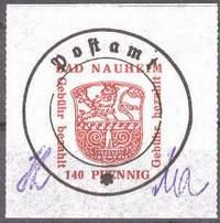 Почтовая марка Бад-Наухайма