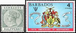 Почтовые марки Барбадоса (колония и независимость)