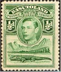 Почтовая марка Басутоленда