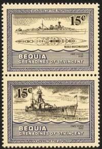 Почтовые марки о-ва Бекия