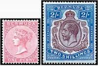 Почтовые марки Бермудских о-вов