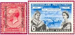 Почтовые марки Бечуаналенда