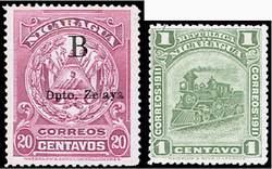 Почтовые марки Блюфилдса