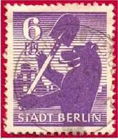 Почтовая марка Берлина