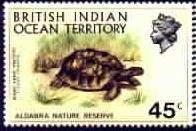 Почтовая марка Британской Территории в Индийском океане
