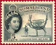 Почтовая марка Британского Сомалиленда