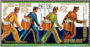 Почтовые марки Республики Бурунди