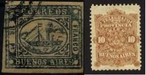 Почтовые марки Буэнос-Айреса
