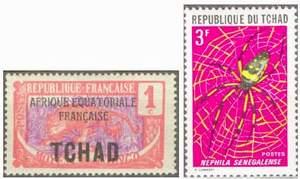 Почтовые марки Чада