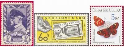 Почтовые марки Чехословакии
