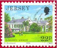 Почтовая марка Джерси