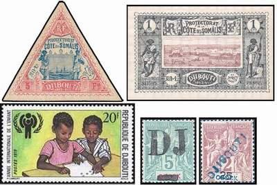 Почтовые марки Джибути