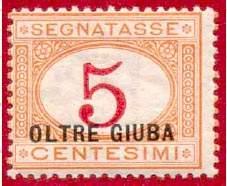 Почтовая марка Джубаленда.
