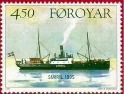 Почтовая марка Фарерских островов