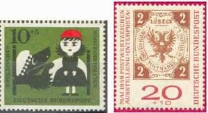 Почтовые марки Федеративной Республики Германии