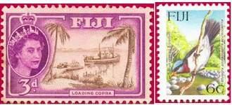 Почтовая марка Фиджи