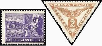 Почтовые марки Фиуме