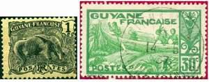 Почтовые марки Французской Гвианы