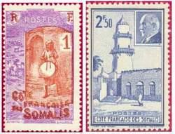 Почтовые марки Французского Берега Сомали