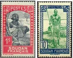Почтовые марки Французского Судана