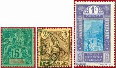 Почтовые марки Французской Гвинеи
