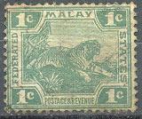 Почтовая марка Малайской Федерации