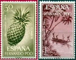 Почтовые марки Фернандо-По