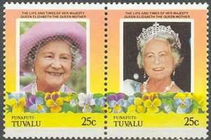 Почтовые марки Фунафути