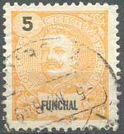 Почтовая марка Фуншала