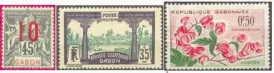 Почтовые марки Габона