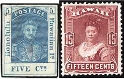 Почтовые марки Гавайев