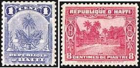 Почтовые марки Гаити