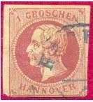 Почтовая марка Ганновера