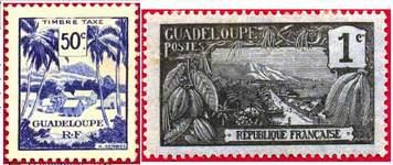 Почтовые марки Гваделупы
